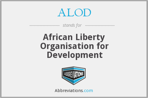 ALOD - African Liberty Organisation for Development