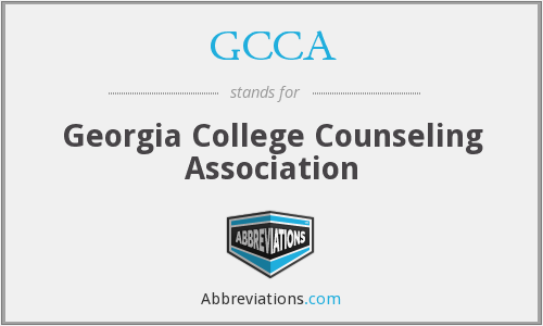 GCCA - Georgia College Counseling Association