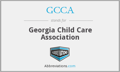 GCCA - Georgia Child Care Association