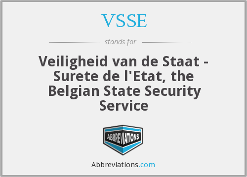 What does VSSE stand for?