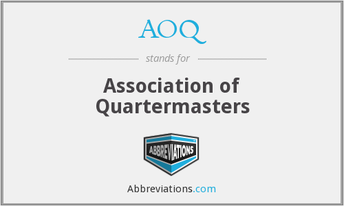 What does AOQ stand for?