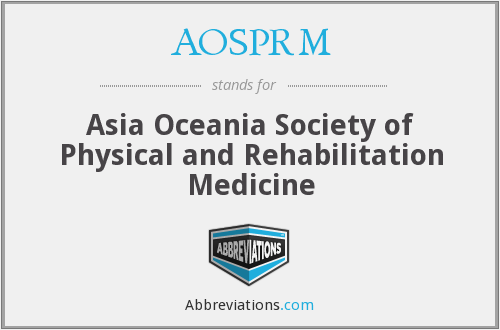 What does AOSPRM stand for?