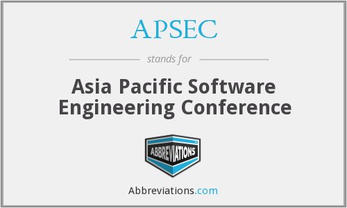 What does APSEC stand for?