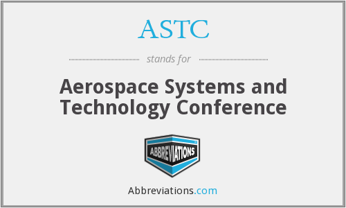 ASTC - Aerospace Systems and Technology Conference