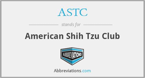 ASTC - American Shih Tzu Club
