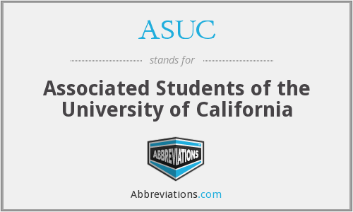 What does ASUC stand for?