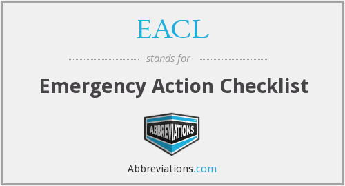 What does EACL stand for?