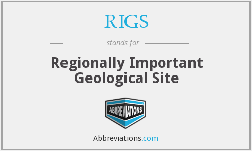 RIGS - Regionally Important Geological Site