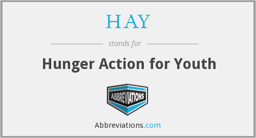 HAY - Hunger Action for Youth