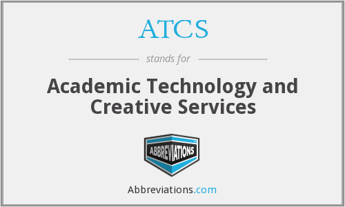 ATCS - Academic Technology and Creative Services