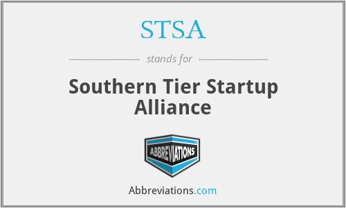 STSA - Southern Tier Startup Alliance
