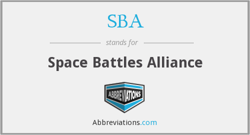 SBA - Space Battles Alliance