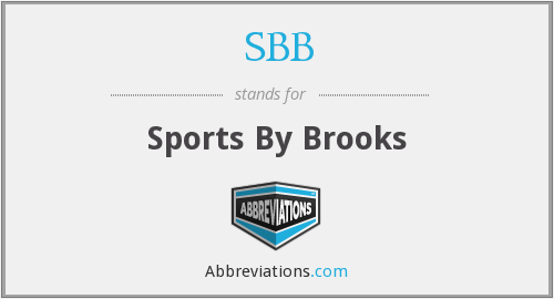 SBB - Sports By Brooks
