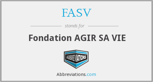 What does FASV stand for?