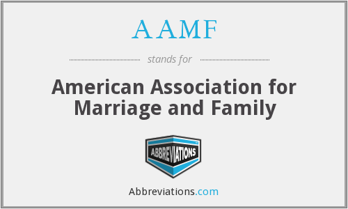 AAMF - American Association for Marriage and Family