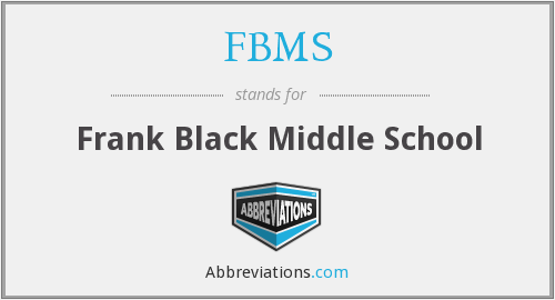What does FBMS stand for?