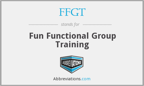FFGT - Fun Functional Group Training