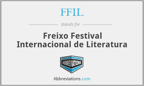 FFIL - Freixo Festival Internacional de Literatura