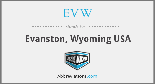 EVW - Evanston, Wyoming USA
