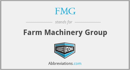 FMG - Farm Machinery Group