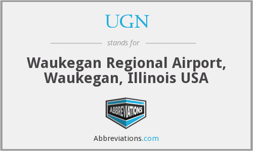 UGN - Waukegan Regional Airport, Waukegan, Illinois USA