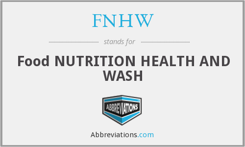 What does FNHW stand for?