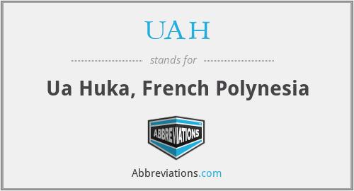 UAH - Ua Huka, French Polynesia