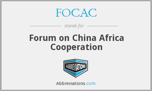 What does FOCAC stand for?