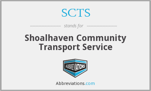 What does SCTS stand for?
