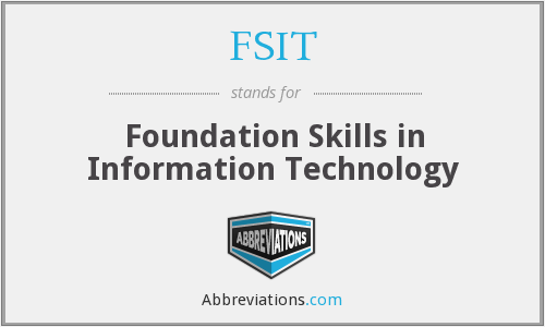 What does FSIT stand for?
