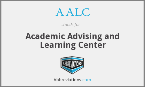 AALC - Academic Advising and Learning Center