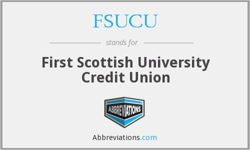 What does FSUCU stand for?