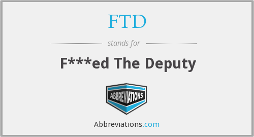 What does FTD stand for?