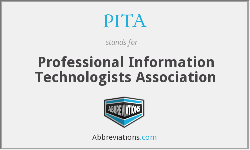 PITA - Professional Information Technologists Association
