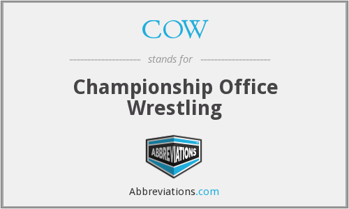 COW - Championship Office Wrestling