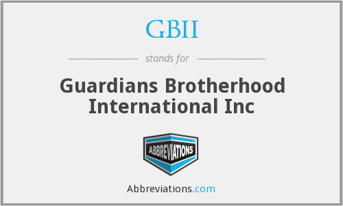 What does GBII stand for?