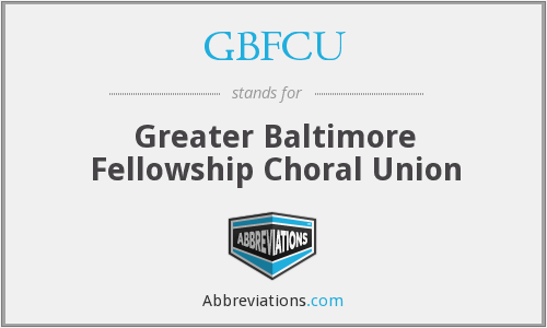 What does GBFCU stand for?