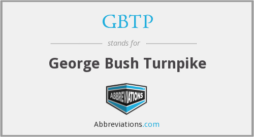 GBTP - George Bush Turnpike