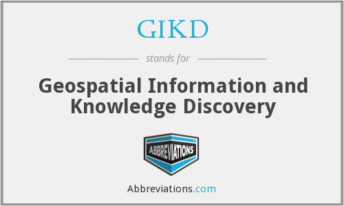 What does GIKD stand for?