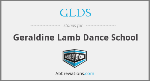 What does GLDS stand for?