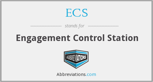 ECS - Engagement Control Station