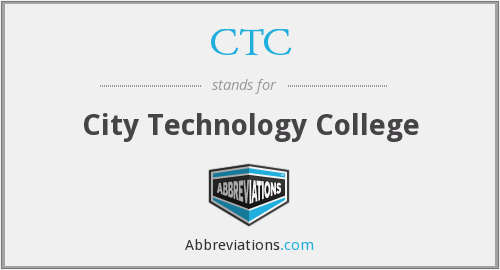 CTC - City Technology College