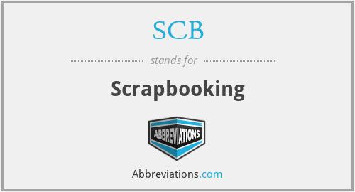SCB - Scrapbooking