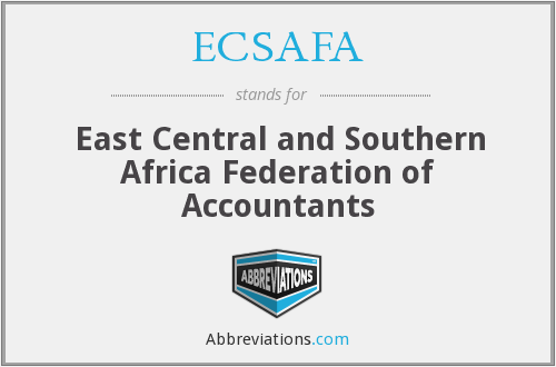 What does ECSAFA stand for?