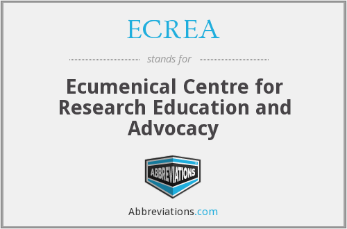 What does ECREA stand for?