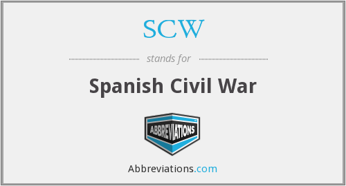 What does SCW stand for?