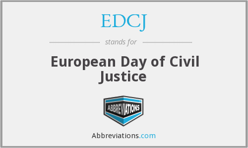 What does EDCJ stand for?