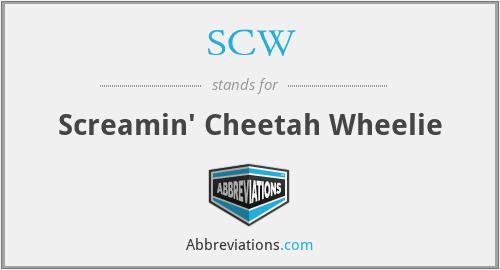 SCW - Screamin' Cheetah Wheelie