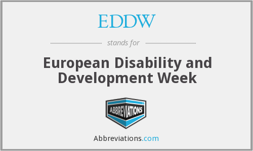 What does EDDW stand for?
