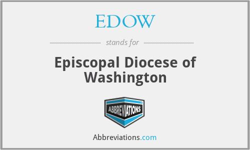 EDOW - Episcopal Diocese of Washington